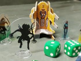 Nuevos materiales: Flat Plastic en Aliens el último juego de Crazypawn