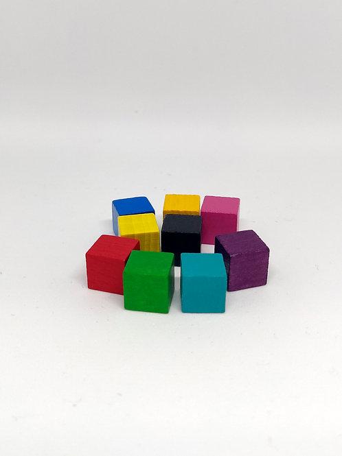 Cubos de Madera 10 mm