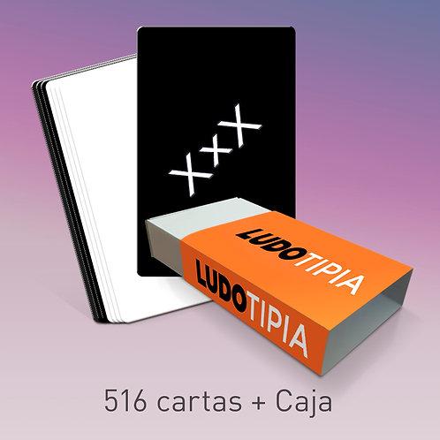 516 cartas + Caja