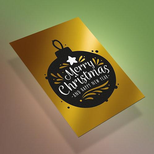 Christmas papeles especiales tamaño A5