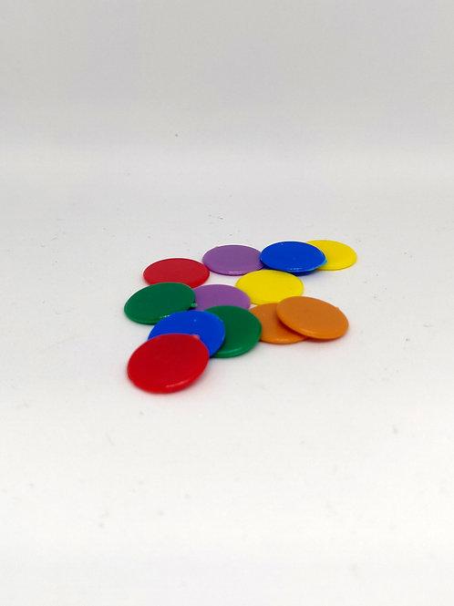 Fichas de Parchís 15 mm