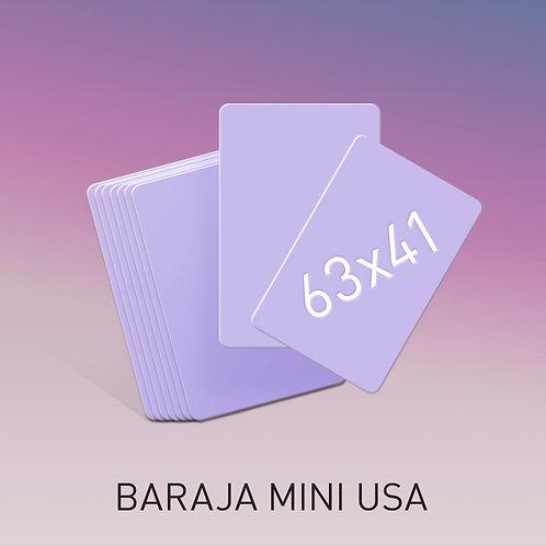 Baraja tamaño mini USA