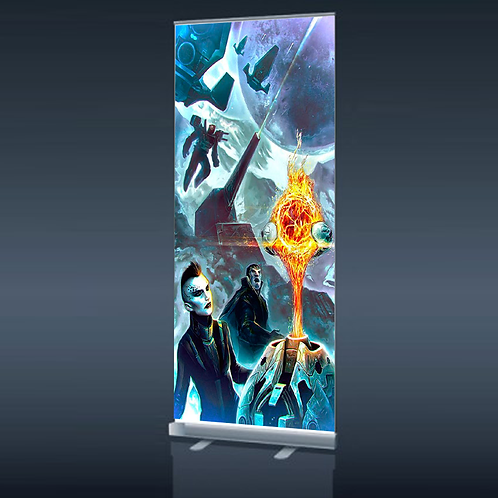 Display tipo Roll up 85x200cms