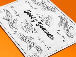 Invitaciones de boda Letterpress en Tipia