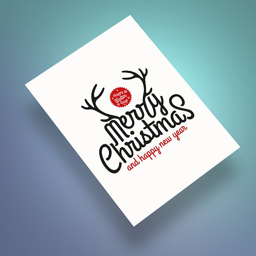 Christmas letterpress tamaño A5