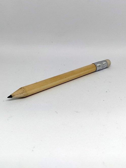 Lápices de Madera con Borrador 100 mm