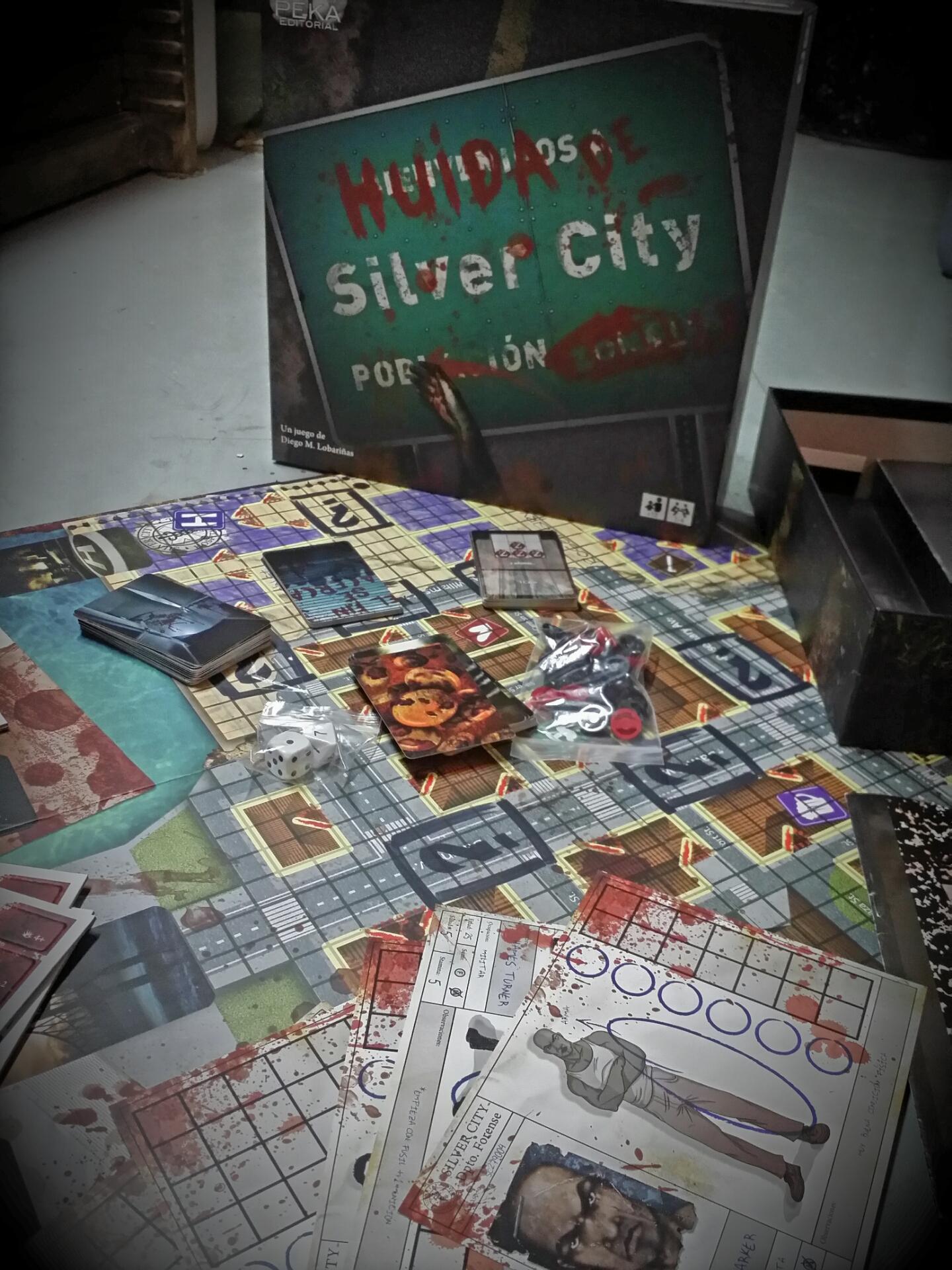 Huida de Silver City