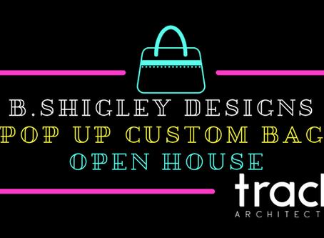 b.shigley designs custom handbag pop up