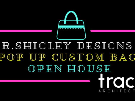 b.shigley designs custom handbag pop up