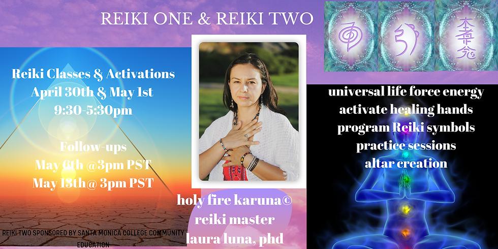 Reiki Level One & Reiki Two