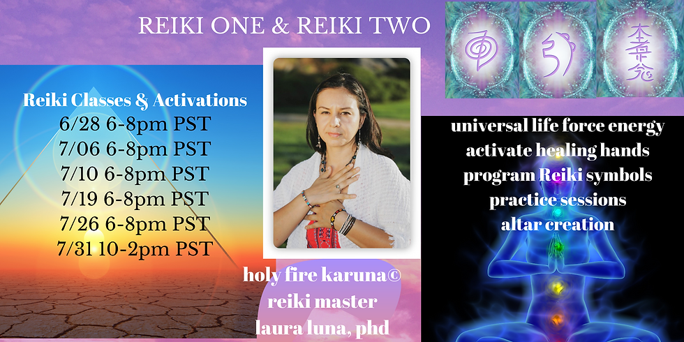 Reiki Level One Session 1
