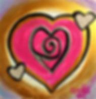 "Self-Love:6""x6"", acrylic on gesso board"