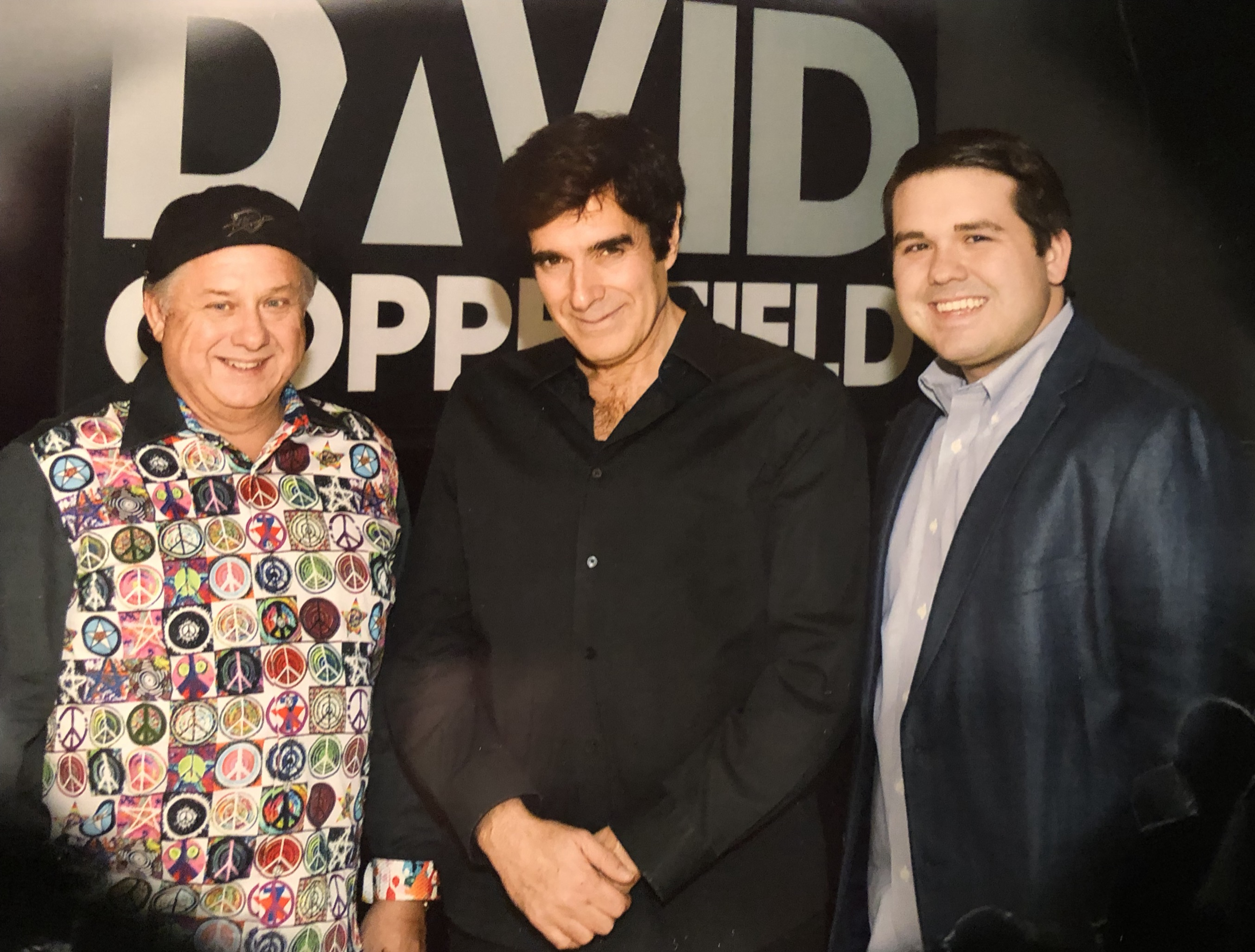 David Copperfield with JP