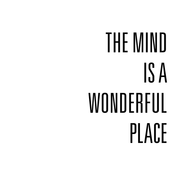 The Mind is a Wonderful Place by Julia Fedoruk