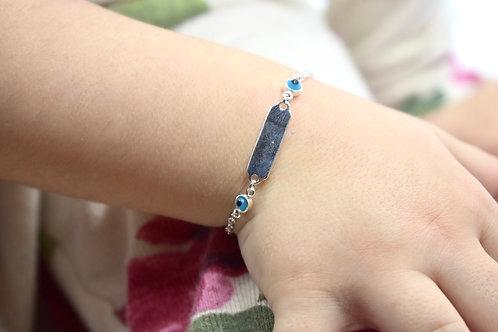 Kids evil eye bracelet
