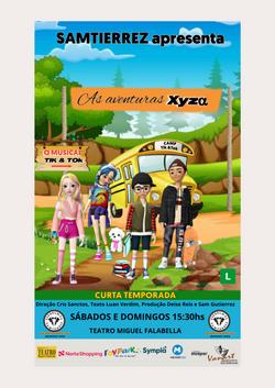 As aventuras XyZα O musical