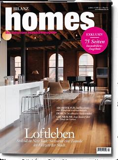 Bilanz Homes - Magazine produced by Bergdorf
