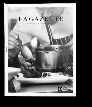 La Gazette Electrolux magazine produced by Bergdorf