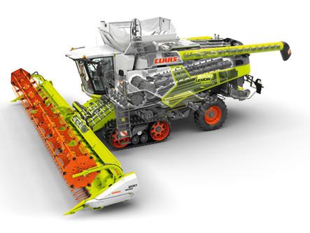 LEXION 8600TT – kombajn klasy 8 – bije należący do maszyny klasy 10 rekord omłotu kukurydzy na ziarn