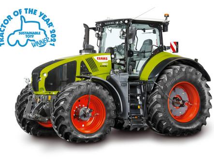 Ciągnik CLAAS AXION 960 z systemem CEMOS traktorem roku 2021.