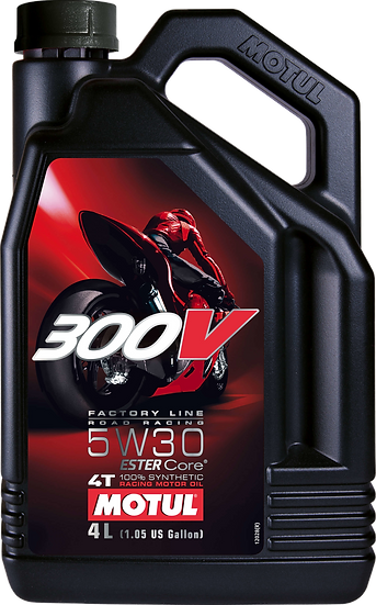 MOTUL 300V FACTORY LINE ROAD RACING 5W30 4L