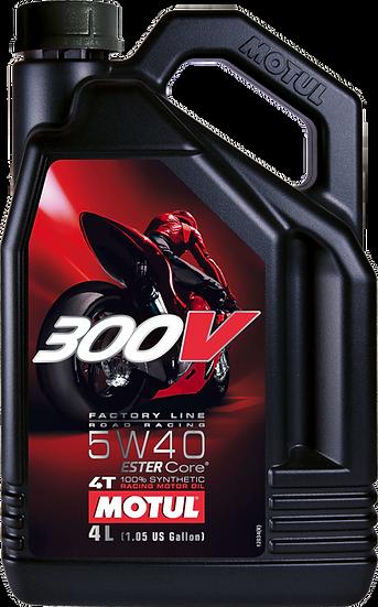 MOTUL 300V FACTORY LINE ROAD RACING 5W40 4L