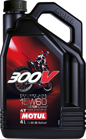 MOTUL 300V FACTORY LINE OFF ROAD 15W60 4L