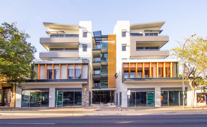 Nuova Apartments Paul Hicks Marshall & B