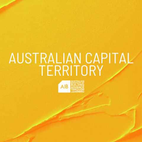 Australian Capital Territory Professional Excellence in Building Awards
