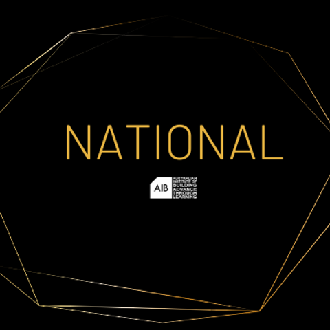 National Professional Excellence in Building Awards