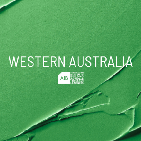 Western Australia Professional Excellence in Building Awards