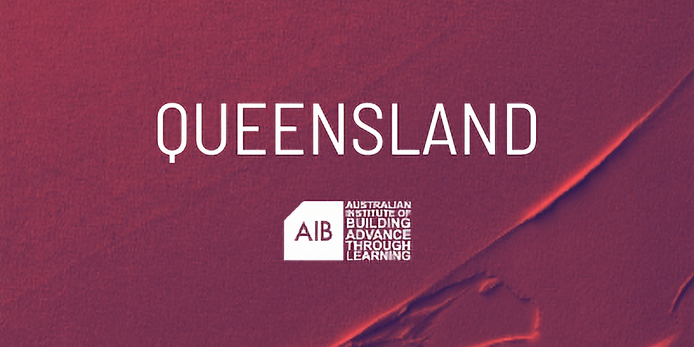 Queensland Professional Excellence in Building Awards