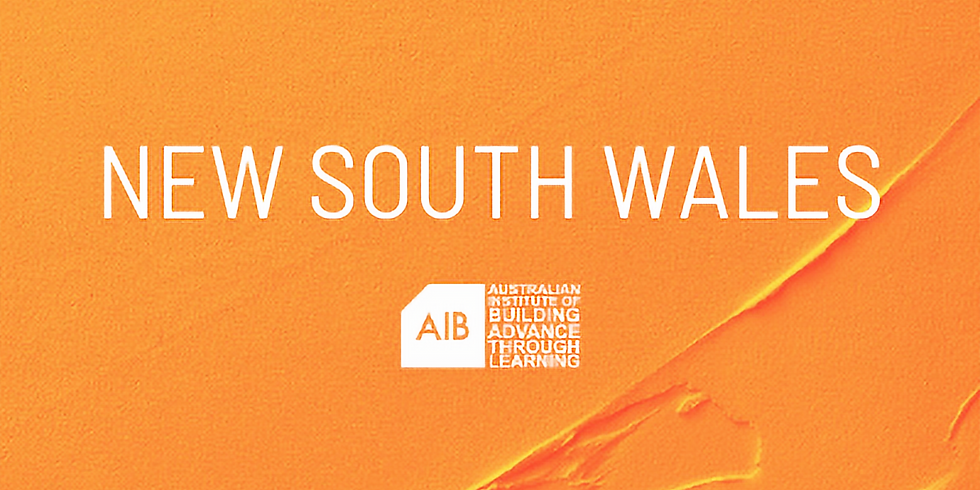 New South Wales Professional Excellence in Building Awards
