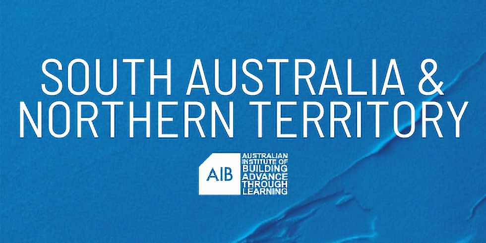 South Australia & Northern Territory Professional Excellence in Building Awards