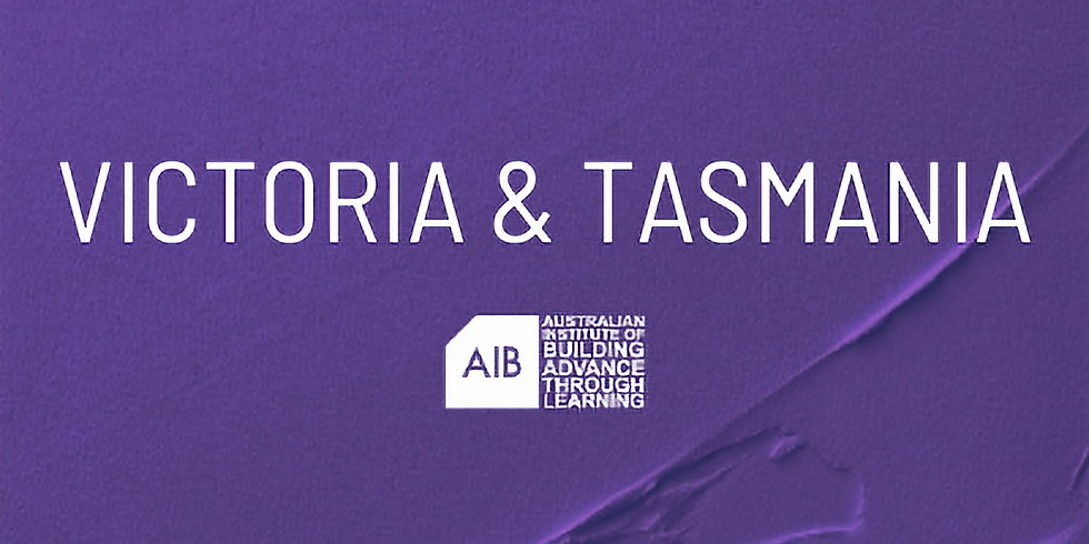 Victoria & Tasmania Professional Excellence in Building Awards
