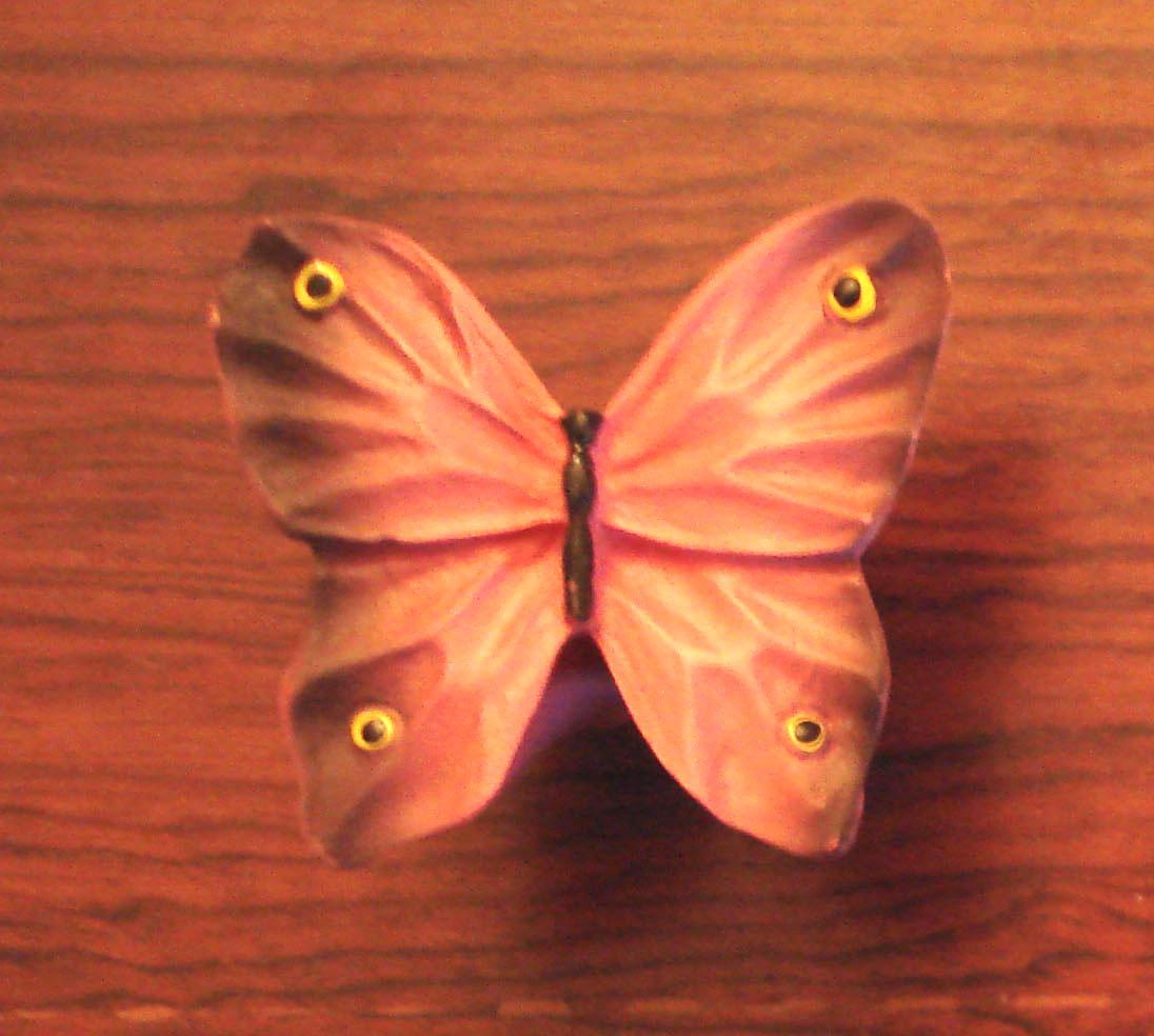 Πεταλούδα πορτοκαλί