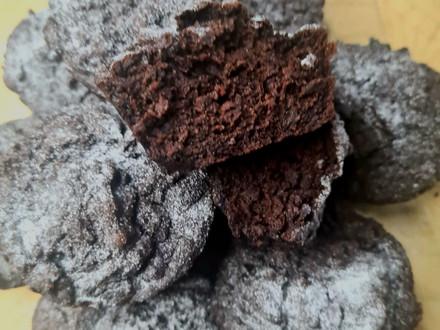 Gâteau au chocolat et aux haricots rouges
