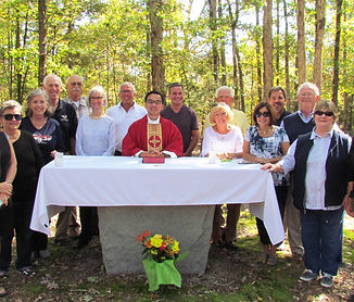 Mass at Locust Grove Cemetery