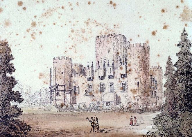 Château Moyen Age