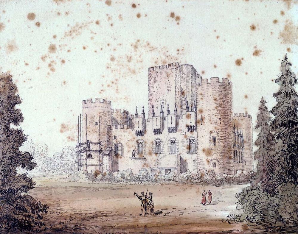 古代のお城
