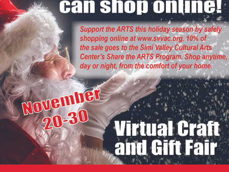 Santa Recommends Checking Out our Virtual Holiday Craft and Gift Fair - NOW LIVE!