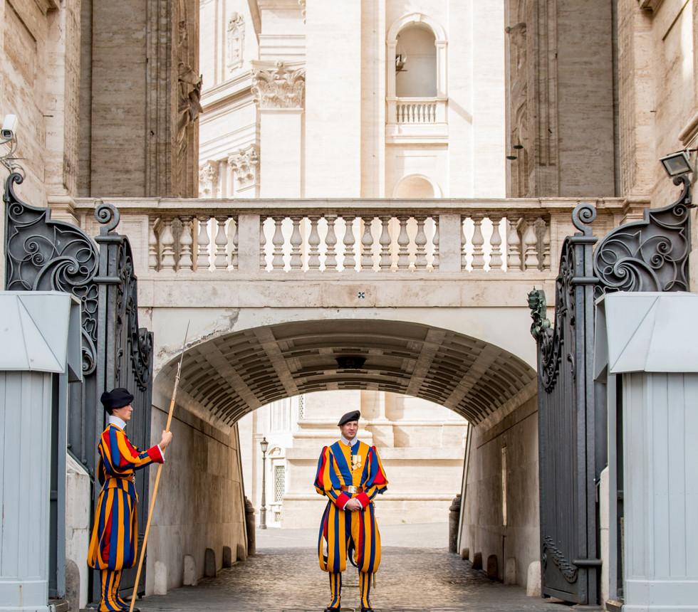 Swiss Guards, Vatican City