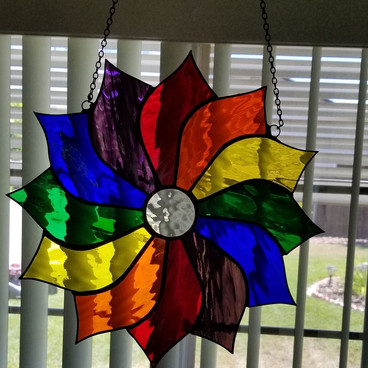 Jamie and Kathy's Stained Glass Art