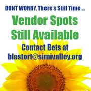 Vendor Spots Available