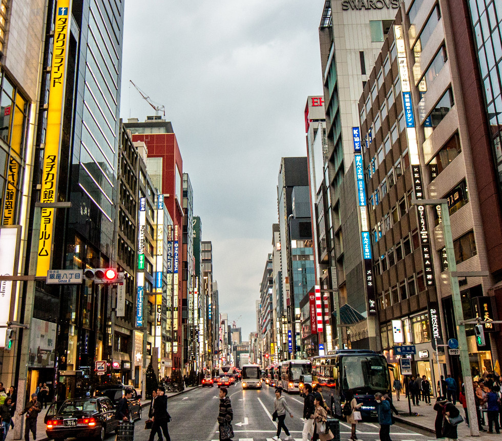 The Ginza (銀座), Tokyo, Japan