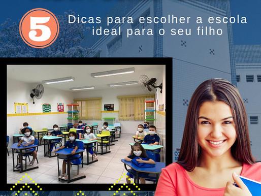 Matrículas 2021: confira 5 dicas para escolher a escola ideal para o seu filho