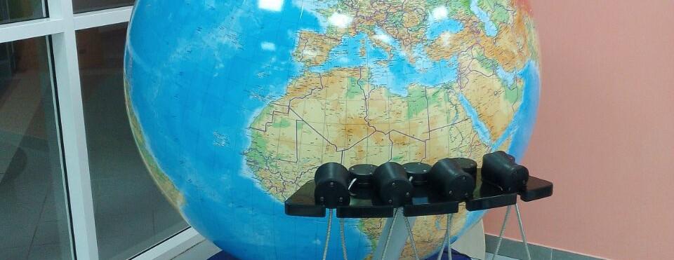 Глобус на всех языках мира