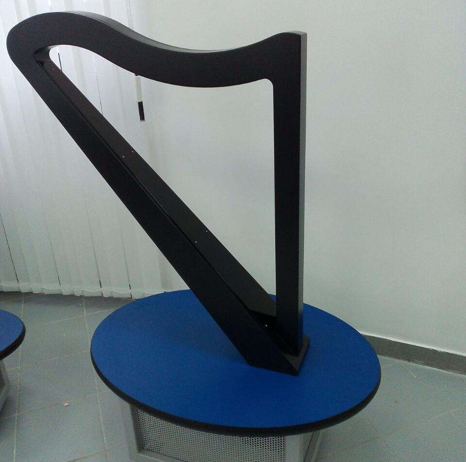Бесструнная арфа - Stringless harp