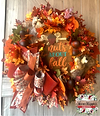 Nuts About Fall Wreath
