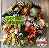 Monster Mash Wreath